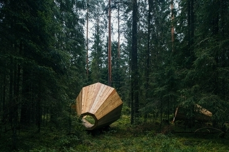 Giant Wooden Megaphones : prendre le temps d'écouter la nature | Efficycle | Scoop.it