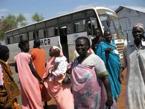 Returnees build their own village back in South Sudan | Education in South Sudan | Scoop.it
