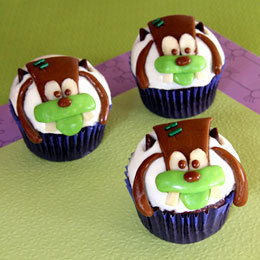 Franken-Goofy Cupcakes | Food | Disney Baking Recipes | Scoop.it