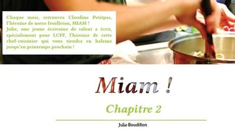Miam ! / Le Feuilleton pour apprendre la langue   fleenligne   Scoop.it