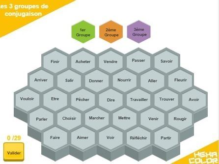 [Jeu en ligne] Hexacolor - colorier c'est gagner - | Ideas, readings and resources for teachers of French | Scoop.it
