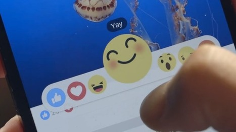 With Reactions, Facebook Supercharges The Like Button With 6 Empathetic Emoji | TechCrunch | Social | Scoop.it
