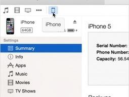Come si fa a sincronizzare l'iPhone con iTunes | Notizie e guide Apple | Scoop.it