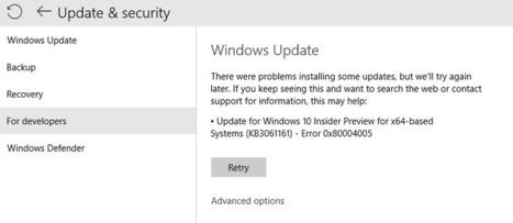 Top Ways Fix Windows Update Error 0x80004005 in Windows 10 - PC Error Repair Solutions n Guide   Fix Windows Error   Scoop.it