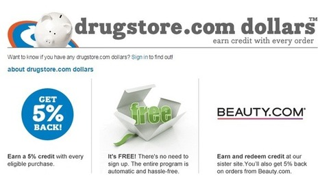 Top 10 Ways to Save When Shopping at Drugstore.com | Ebates | Evan | Scoop.it