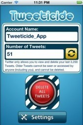 Wanna Disappear on Twitter? Erase Your History With Tweeticide | ZAGGblog | SM | Scoop.it