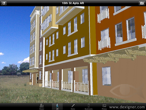 SightSpace 3D: First Mobile Augmented Reality App for GoogleSketchUp | visual data | Scoop.it
