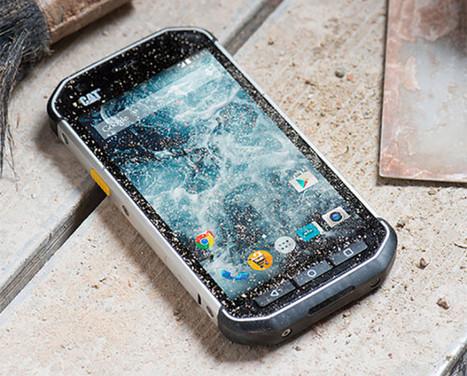 Besoin d'un téléphone résistant ? Le Caterpillar S40 est fait pour vous ! | Geeks | Scoop.it