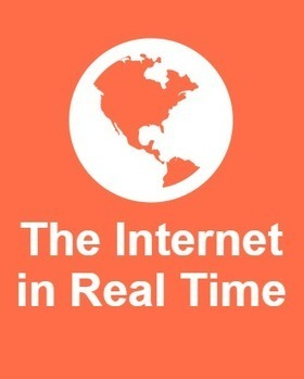 The Internet in Real Time: Web Usage Stats Per Second | Información & Documentación | Scoop.it