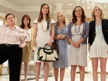 """American Comedy Movie """"Bridesmaids"""" on Saturday, 11 May at 6.40 PM - HBOIndia   English Comedy Movies   Scoop.it"""