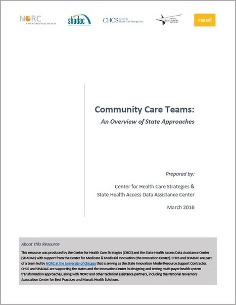 Community Care Teams: State Approaches | Patient-Centered Care and Experience | Scoop.it