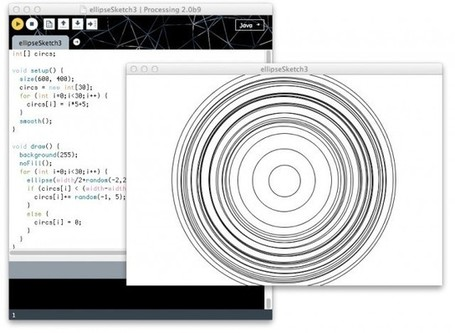 Creative Coding, Evolved: Processing Nears 2.0 Release With Hot-Looking Beta 9 | Digital MediaArts Numériques | Scoop.it