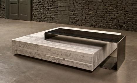 Ta_volo, Marble Coffee Table by Franz Siccardi for Salvatori | decoracion | Scoop.it