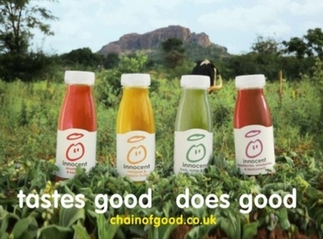Innocent ad campaign to focus on 10% of profits given to charity | Juices | Scoop.it