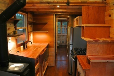 Custom 30 Foot House: The (not so) tiny towable home | Five Regions of the Future | Scoop.it