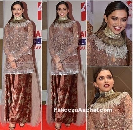 Deepika Padukone in Heavy Embellished Sabyasachi Outfit | Indian Fashion Updates | Scoop.it