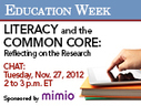 Education Week: Literacy and the Common Core Webinar with Tim Shanahan | CCSS News Curated by Core2Class | Scoop.it