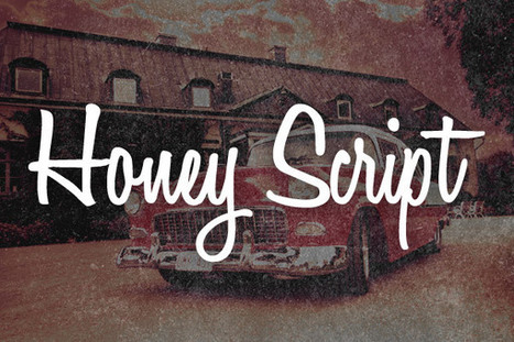 12 Free Script Fonts for Creating Vintage Logos | feed2need.com | Scoop.it
