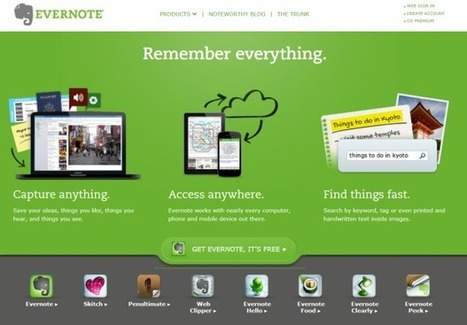 The Best Way to Build Student E-Portfolios: Use Evernote | Web tools to support inquiry based learning | Scoop.it