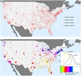 Spatial Transmission of 2009 Pandemic Influenza in the US | my universe | Scoop.it