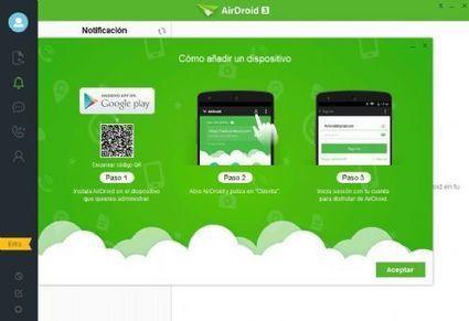 AirDroid 4 te permite controlar tu Android desde tu Pc y compartir archivos rápidamente   Ojo Android   Scoop.it