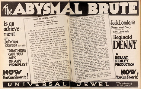 Lost Film Files #25: The Abysmal Brute (1923) | Movies, Silently | Film History | Scoop.it