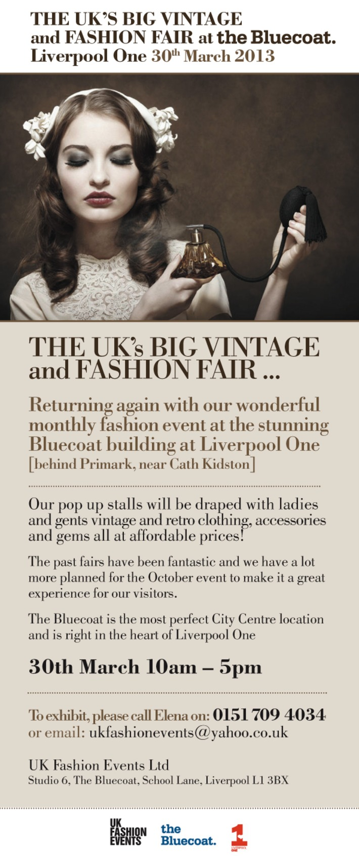 The UK's Big Vintage & Fashion Fair | Antiques & Vintage Collectibles | Scoop.it