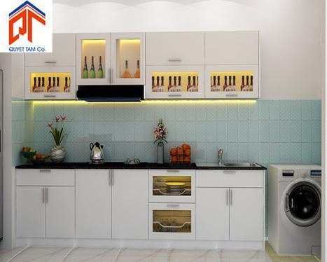 bepsaigon.net - Tủ bếp nhà Anh Phương - Tủ bếp nhà Anh Phương | Tủ bếp Acrylic - MFC | Scoop.it