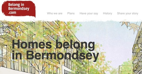 Belong in Bermondsey.com, Public consultation for Grosvenor's redevelopment of this urban district | Digital Portfolio by Small Back Room | Scoop.it