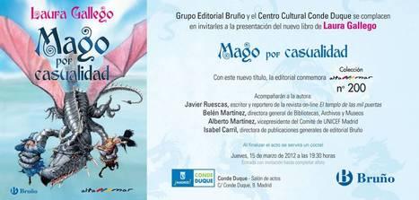 NUEVO LIBRO DE LAURA GALLEGO | Temas varios de Edu | Scoop.it