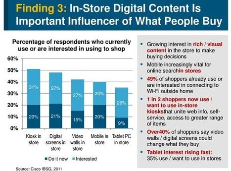 La majorité des shoppers US et UK est intéressée par les bornes connectées en magasin (Etude) » Connected Store | Connected Store | Commerce Connecté | Scoop.it