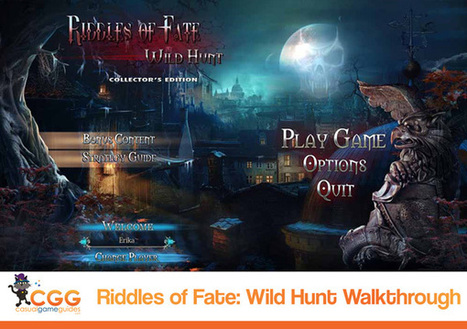 Riddles Of Fate: Wild Hunt Walkthrough: From CasualGameGuides.com | Casual Game Walkthroughs | Scoop.it