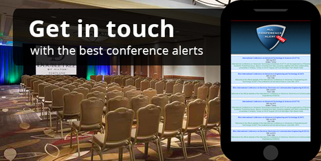 Get Conference Alerts at your Finger Tips in 2016 | allconferencealert | Scoop.it