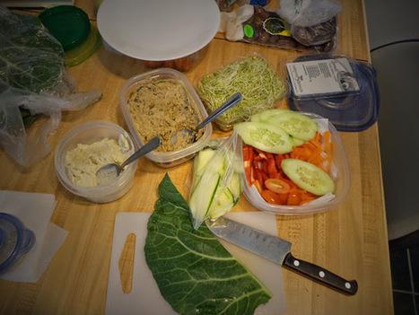 The Vegan Mouse: Raw Vegan Wraps.   My Vegan recipes   Scoop.it