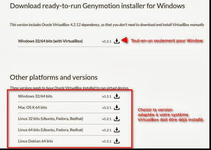 Linux / Windows: émuler facilement Android avec Genymotion | Time to Learn | Scoop.it