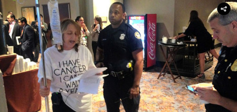 Breast Cancer Patient Protesting Big Pharma's 'Death Sentence' Arrested Outside TPP Talks | Breast Cancer News | Scoop.it