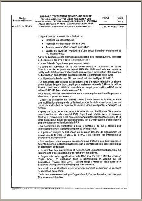 Sortir du nucléaire 76 + collectif stop EPR, ni à Penly ni ailleurs. | Incident nucléaire du 5 avril 2012 à Penly (Seine Maritime) | Scoop.it