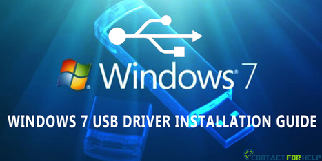 Windows 7 USB Driver Installation Guide For First Time Users | ashleysmith | Scoop.it