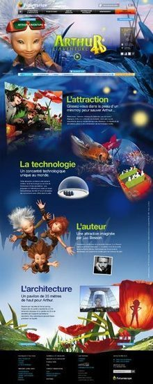 Le site internet du Futuroscope récompensé d'un Top Com d'Or | PressMyWeb | web 2.0, e-marketing, e-commerce, nouvelles technologies | E-tourisme64 | Scoop.it