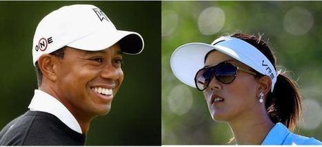 Tiger Woods et Michelle Wie :  destins croisés | Golf, infos et insolite avec Fasto sport | Scoop.it