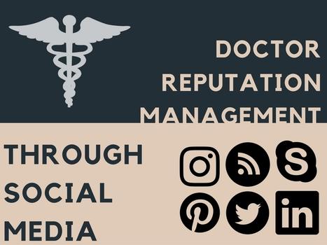 Doctor Reputation Management through Social Media | Online Reputation Management for Doctors | Scoop.it