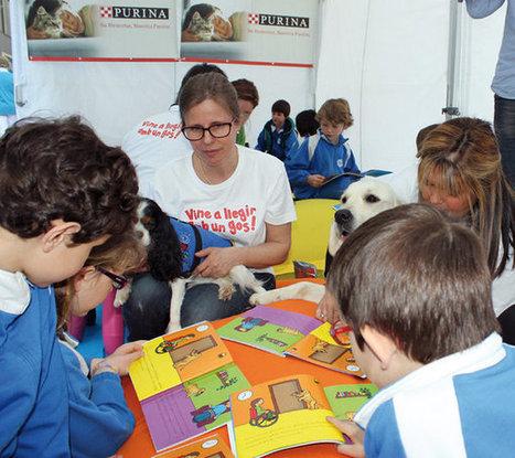 Perros enseñan a los niños a leer | Formar lectores en un mundo visual | Scoop.it
