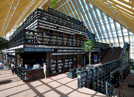 Book Mountain, A Pyramid-Shaped Super Library in the Netherlands | Librarians in the real world | Scoop.it