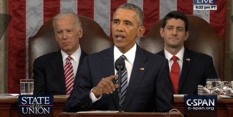 The Science Issues Barack Obama Made Sure to Include in His State of the Union | Scinnovation | Scoop.it