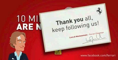 Ferrari sempre più social: 10 milioni di fan su Facebook - Excite Italia   SEO ADDICTED!!!   Scoop.it