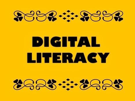 The Reed Diaries: Thinking About Developing Digital Literacies | Digital Literacies | Scoop.it