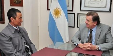 Olivero recibió a funcionario del país asiático de Bután | Secretaría de Integración y Relaciones Internacionales | Scoop.it