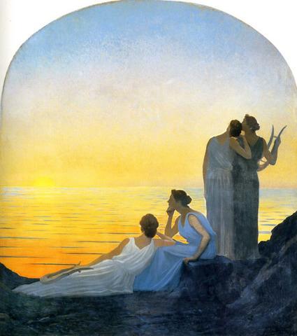 Alphonse Osbert - Soir dans l'Antiquité (1908) - Arti e bagagli | Salvete discipuli | Scoop.it
