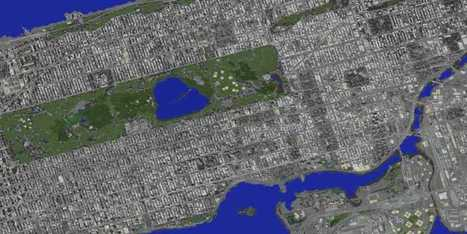 This Student Is Building An Epic Replica Of Manhattan Inside Minecraft | Daily Magazine | Scoop.it
