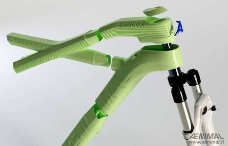 3D-printed compostable bike frame is made from plants | Knowmads, Infocology of the future | Scoop.it